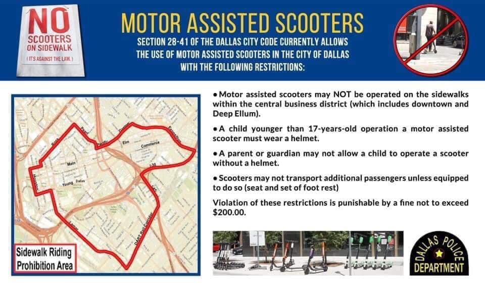 Parking Transportation Deep Ellum Texas