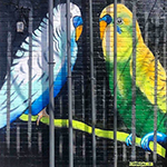 Caged Birds by Frank Campagna